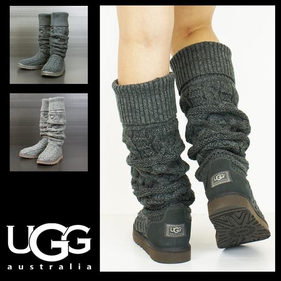 UGG Australia Knit Knee-High Boots footlocker cheap price buy cheap best seller k80HZu0